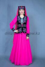 02312 Татарский женский стилизованный костюм