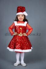 "01206 Девочка Санта ""SantaGirl"""