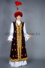 02059 Казахский национальный костюм