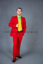 01975 Красный костюм двойка