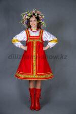 02132 Русский танцевальный короткий