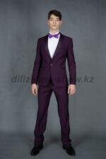 01981 Фиолетовый смокинг