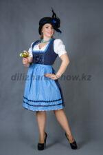 02272 Немецкий традиционный женский костюм
