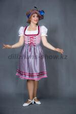 02288 Немецкий национальный женский костюм