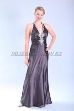 2612. Голубое платье в винтажном стиле