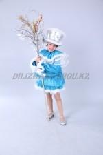 01226 Снеговик голубой