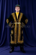 2152 уйгурский национальный костюм мужской