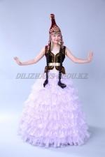 2021 Казахский национальный женский костюм