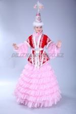 02111 Женский казахский национальный костюм