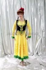 2153 уйгурский национальный костюм женский
