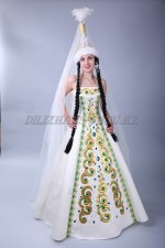 02841 Свадебное платье на Кыз Узату
