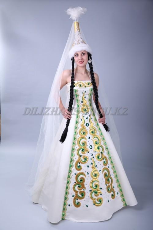 Казахское женское платье
