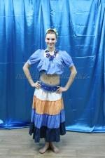 02512 Гавайский костюм женский
