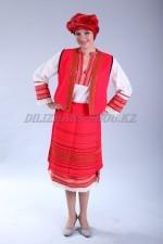02264 Болгарский национальный костюм женский