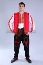 02263 Болгарский национальный костюм мужской