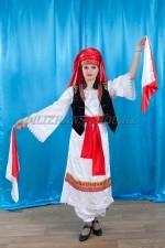 02254 Греческий национальный костюм женский