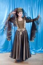 2106. азербайджанский национальный костюм женский