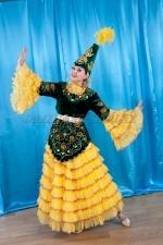 02107 Женский Казахский национальный костюм
