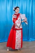 2176 китайский национальный костюм женский