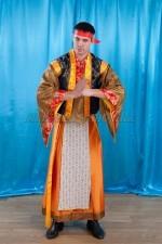 2185 . китайский национальный костюм мужской