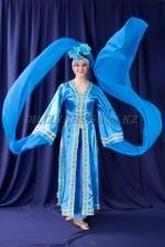 2174 китайский национальный костюм женский с рукавами