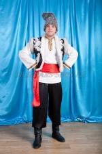 02322 Молдавский национальный костюм мужской