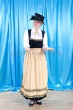 2092. Женский национальный баварский костюм