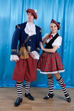 Шотландские национальные костюмы
