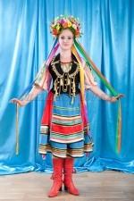 02261 Женский польский национальный костюм