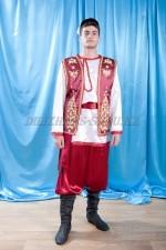 2100 мужской национальный татарский костюм
