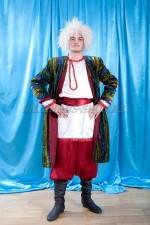 02213 Туркменский национальный костюм мужской