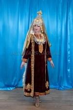 02214 Туркменский национальный костюм женский