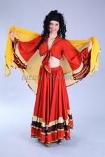 2279. Цыганский национальный костюм женский