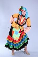 02707 Казачий женский костюм