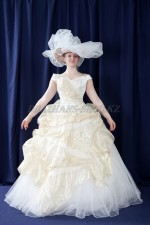 2431 бальное платье