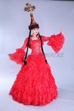 2054. Казахское национальное платье для Кыз Узату