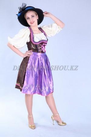 02299 Немецкий национальный женский костюм