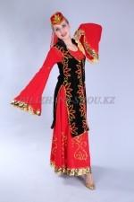 02231 Уйгурский национальный костюм женский
