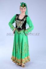 02233 Уйгурский национальный костюм женский