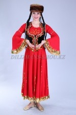 02232 Уйгурский национальный костюм женский