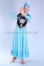 02235 Уйгурский национальный костюм женский