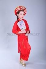 1198r - национальный костюм - вьетнамская девочка