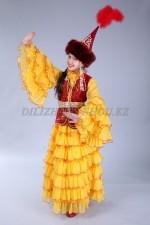 Казахский национальный костюм 06