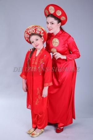Вьетнамские национальные костюмы
