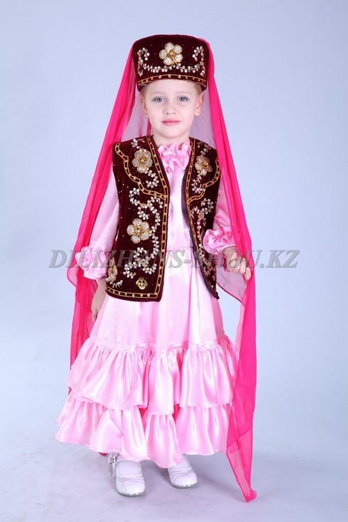 Татарский костюм для девочки своими руками