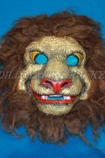 1628. Маска льва папье-маше