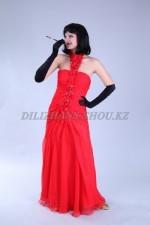2614. Красное платье в стиле Чикаго