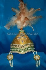 1806. Казахский детский головной убор