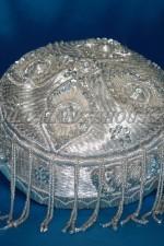 1805. Узбекский женский головной убор