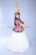 Казахский национальный костюм 014